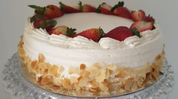 Strawberries and Cream Cake Delivery Sydney