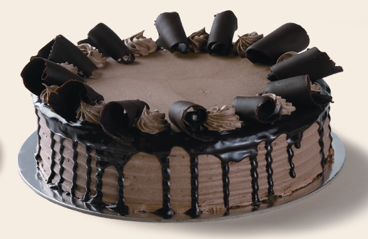 Chocolate Prince Fudge Cake