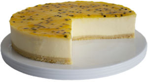 Gluten Free Passionfruit Cheesecake Delivery Sydney