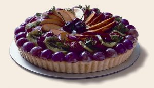 Fruit flan cake delivery Sydney