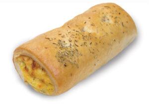 Roasted Pumpkin & Cheese Roll